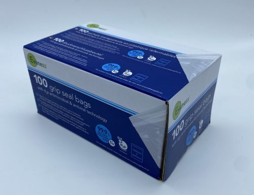 UK 1st Anti-Viral Grip Seal Bags – Available May 2021